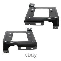 17-19 F-Series Super Duty Front Bumper Inner Mounting Brace Bracket SET PAIR