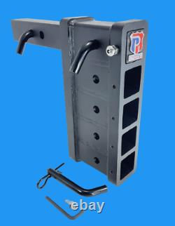 25k Tactical Duty! Adjustable Tow Ball Mount Drop Hitch Patriot Hitches