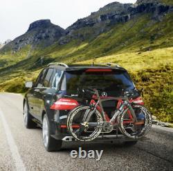 2 Bike Bicycle Carrier Platform Hitch Receiver 2 Heavy Duty Mount Rack Truck