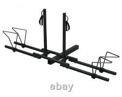 2 Bike Bicycle Carrier Platform Hitch Receiver 2 Heavy Duty Mount Rack Truck US