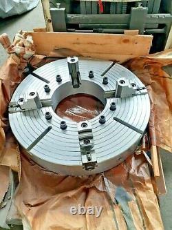 35 Heavy Duty Oil Country steel body Chuck 4 Jaw A2-20 Mount 14.5 Thru-Hole