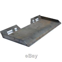 3/8 Skid Steer Mount Plate Tractor Quick Attachment Tach Steel Plate Heavy Duty