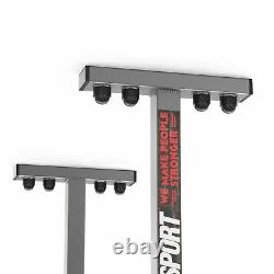 3 Position Ceiling Mount Pull Chin Up Bar Home Workout Chinning Heavy Duty UK