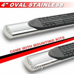 4 Running Boards For 97-03 F150 97-99 F250 Super Cab Side Step Nerf Bars 2pcs