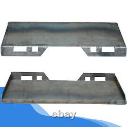 5/16 Quick Tach Attachment Mount Plate Heavy Duty Steel Front Loader Plate