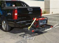 750 lbs Heavy Duty Mesh Folding Hitch Mounted Cargo Carrier Luggage Basket Fits