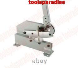 8 Heavy Duty Bench Mount PLATE SHEAR Sheet Metal ROUND BAR CUTTER Nibbler Tool