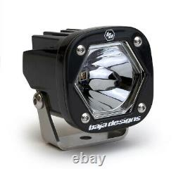 Baja Designs S1 Black Single Pod Spot Laser Light With Mounting Bracket 380007