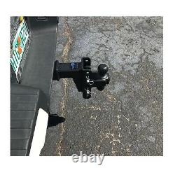 Bulletproof ED254 Class 5 Extreme Duty 4 Drop/Rise Hitch Adjustable Ball Mount