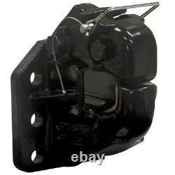 Buyers PH50 50-Ton Heavy Duty Pintle Hook Rigid Mount Hitch 6-Hole