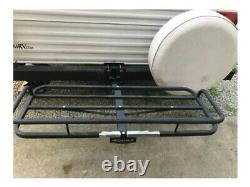 Camper Hitch RV Bumper Mount Receiver Adapter Heavy Duty Travel Trailer Towing