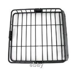 Cargo Basket Fit Ford Roof Top Storage Cross Bar Mount Carrier Rack Heavy Duty