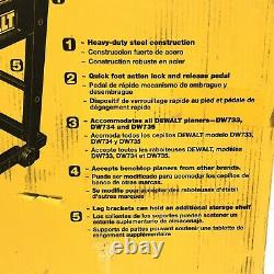 DeWALT DW7350 Heavy Duty Mobile Planer Stand New Steel with Mounting Hardware