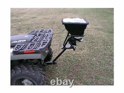 Field Tuff AS 80ATV12 Receiver Mount Spreader 80 Pound Heavy Duty Outdoor Garden