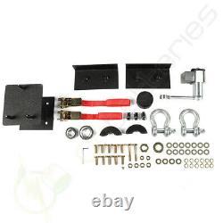 For 07-18 Jeep Wrangler JK steel Black Rear Bumper & Tire Carrier + LED Lights