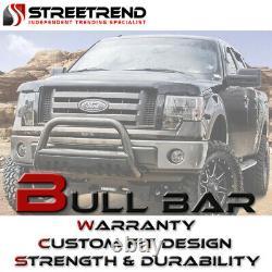 For 99-04 Ford F250/F350 Super duty Black HD Bull Bar Bumper Grill Grille Guard