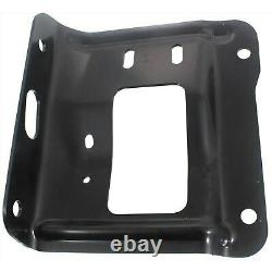 Front Bumper Brackets Inner & Outer Mounting Plate For 2011-2016 Ford Super Duty