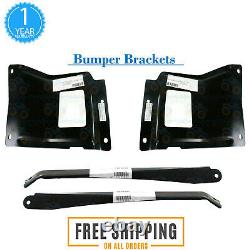 Front Bumper Outer Bracket & Mount Plate For 2005-2007 Ford Super Duty F-250 350