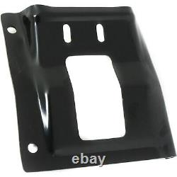 Front Mounting Plate Bumper Brackets For 2008-2010 Ford Super Duty F-250 F-350