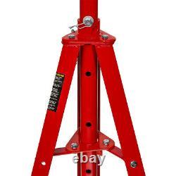Heavy Duty 2 Ton auto shop Steel Red Under Hoist Mount Tripod Stand underhoist