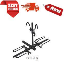 Heavy Duty 50027 Hitch Mount Platform Style 2-Bike Steel Rack