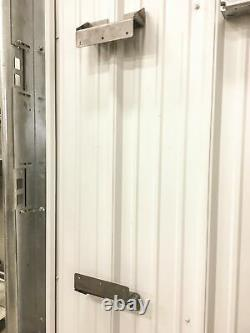 Heavy-Duty Corrugated Shop Wall Brackets Mounts on Corrugated Wall -12 Pack