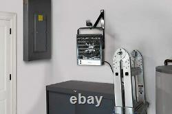 Heavy-Duty Garage/Workshop Electric Heater Mounting Bracket Built-in Thermostat