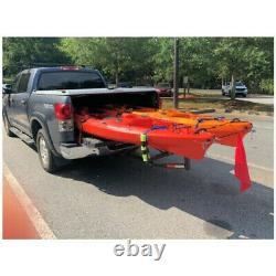 Heavy Duty Hitch Extender For Pick Up Truck Bed Car Back Rack Mount Adjustable