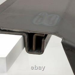 Heavy Duty Loading Ramp Mounting Bracket 10ga Raw Steel For Tailgate/Trailer