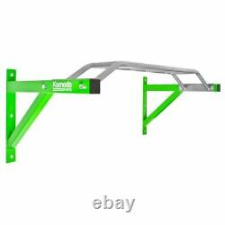 Heavy Duty PULL UP BAR 1.2m Wide Multi Grip Wall Mounted Chin Chinning Exercise