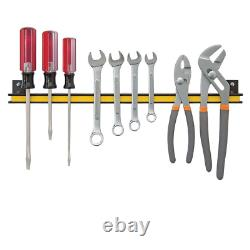 Heavy Duty Wall Mount Magnetic Tool Storage Bar 340 Lb Capacity Organizer Holder