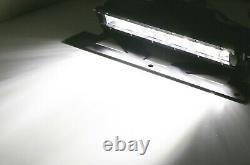 Hood Scoop Mount 50W LED Lightbar Kit For 2005-2011 Toyota Tacoma OEM Hood Bulge