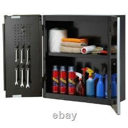 Husky 28 Heavy Duty 20 Gauge Wall Mounted Steel Garage Cabinet (HL4)