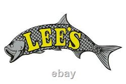 Lee's Tackle 2.25 O. D. 30° Stainless Steel Heavy Duty Flush Mount Rod Holder
