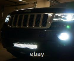 Lower Grille Mount 20-Inch LED Light Bar Kit For 2011-2020 Jeep Grand Cherokee
