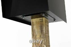 Modern Design Post Mount Mailbox Package Parcel Postal Heavy Duty MADE IN USA