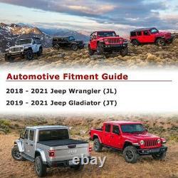 Nixon Offroad Heavy Duty Steel A-Pillar Light Mount Bracket For 2018 2021 Jeep