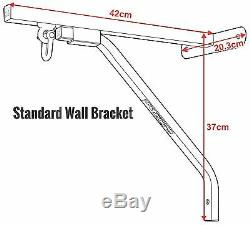 RDX Heavy Duty Punch Bag Wall Bracket Steel Mount Hanging Stand Boxing MMA AU