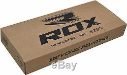 RDX Heavy Duty Punch Bag Wall Bracket Steel Mount Hanging Stand Boxing OS
