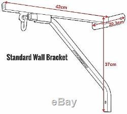 RDX Heavy Duty Punch Bag Wall Bracket With 4 Chains Steel Mount Hanging Stand AU