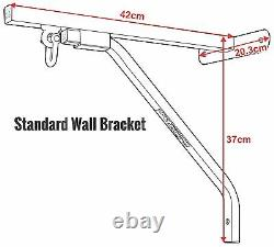 RDX Heavy Duty Punching Bag Wall Bracket Steel Mount Hanging Stand Boxing MMA