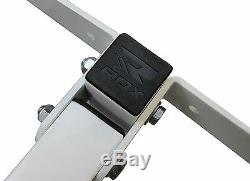 RDX Pro Heavy Duty Punch Bag Folding 3ft Wall Bracket Steel Mount Hanging Boxing