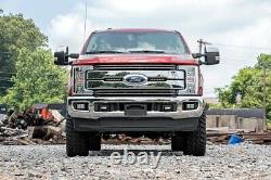 Rough Country Dual 8 LED Grille Mounting Kit (fits) 2017 Super Duty F250 F350