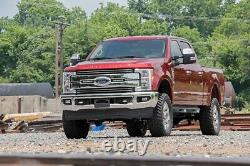 Rough Country Dual 8 LED Grille Mounting Kit (fits) 2017 Super Duty F250 Lariat