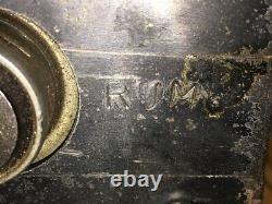 Rustic Heavy Duty Paper Towel Roll Dispenser Industrial Steel Steampunk Holder