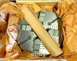 SCA 15 Lathe Chuck 4 Jaw Med Duty Semi Steel L2 Mount Solid Jaw Made In Sweden
