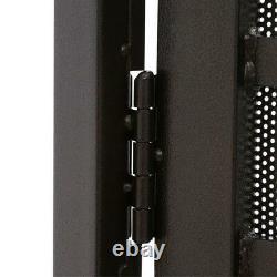 Security Single Door 36 in. X 80 in. Heavy-Duty Lockbox Copper Surface Mount