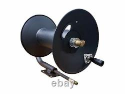 Skid or Wall Mount Super Heavy Duty Pressure Washer Hose Reel, 3/8In x 200FT