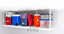 Storage Rack Garage Overhead Ceiling Adjustable 2 X 8 Ft Heavy Duty Mounts New