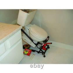 Toilet Master Jack Toilet Installer Floor Wall Mount Toilets Heavy Duty Steel